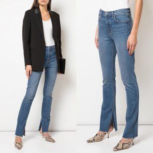 GRLFRND Addison High Rise Split Hem Jeans - 29